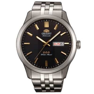 ORIENT 日本 東方錶 三星上將 機械錶(SAB0B009B)-黑/43mm