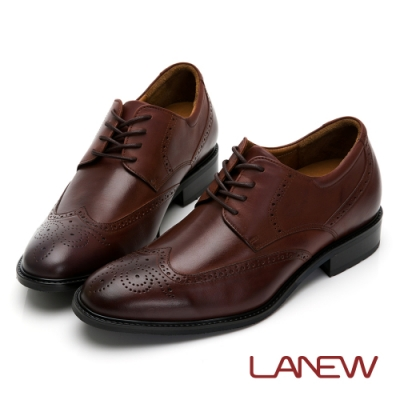 LA NEW 經典雕花內增高紳士鞋(男226033520)