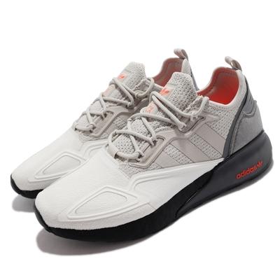 adidas 休閒鞋 ZX 2K Boost 運動 男鞋 海外限定 愛迪達 避震 舒適 穿搭 白 灰 H67573