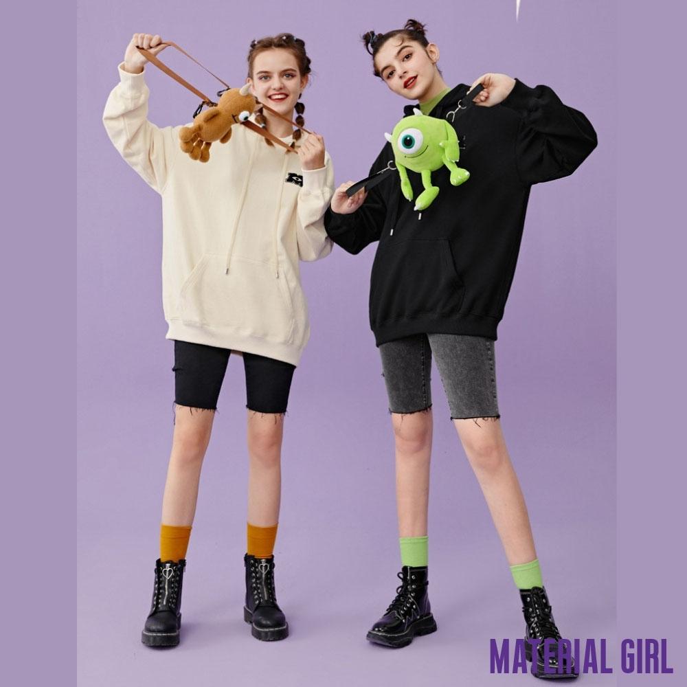 MATERIAL GIRL 怪獸大學聯名長袖上衣(附大眼娃娃包【冬季新品】-A41128