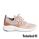 Timberland女款FlyRoam Go米色皮革飛型鞋