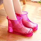 足浴加厚高筒泡腳鞋/泡腳桶
