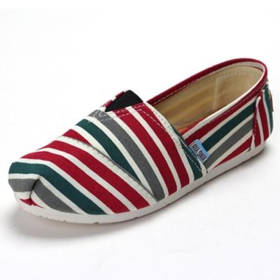 韓國KW美鞋館 (現貨+預購) 懶人帆布鞋 嫩彩系散步樂活款-紅