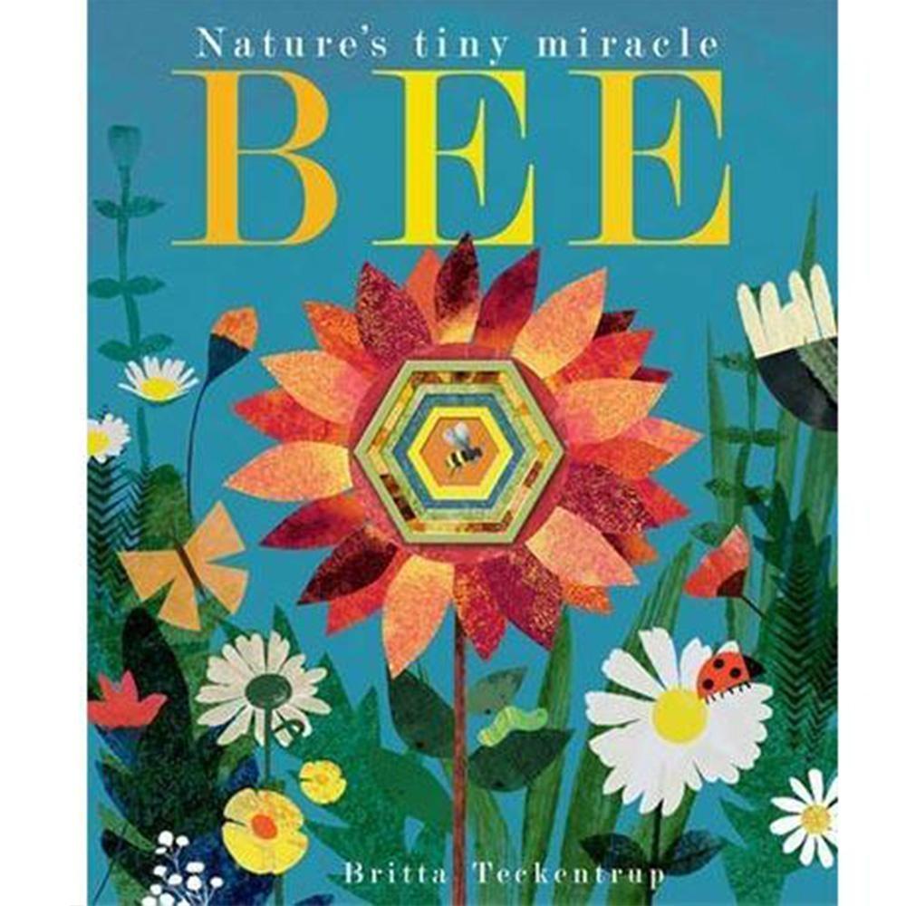 Bee:Nature's Tiny Miracle 小蜜蜂忙碌的一天疊層洞洞書