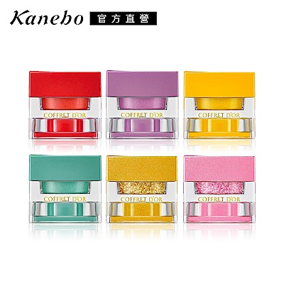 Kanebo 佳麗寶 COFFRET D'OR玩色我型眼頰彩霜3.3g