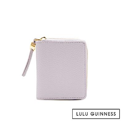 LULU GUINNESS PORTIA 短夾 (紫)
