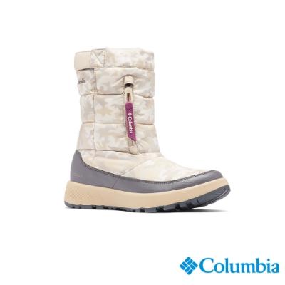 Columbia 哥倫比亞 女款 -  Omni-HEAT鋁點保暖防小雨雪靴-卡其  UBL011180KI