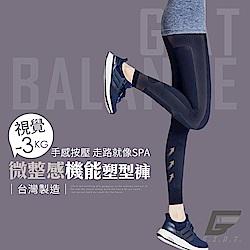 GIAT 視覺-3KG微整機能塑型褲(午夜藍)