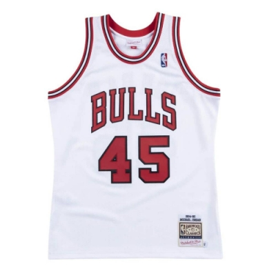 M&N Authentic球員版復古球衣 公牛隊 94-95 #45 Michael Jordan