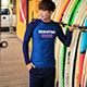 泳衣 深海幽藍 二件式長袖水母衣泳裝(男M~XL) AngelHoney天使霓裳 product thumbnail 1