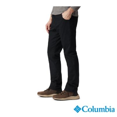 Columbia 哥倫比亞 男款- Omni-Shade 防曬50內刷毛長褲-黑色 UAE05550BK