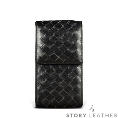 STORYLEATHER SONY Xperia Xz2 直式編織紋 客製化皮套