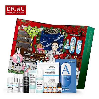 DR.WU 經典聖誕倒數日曆禮盒