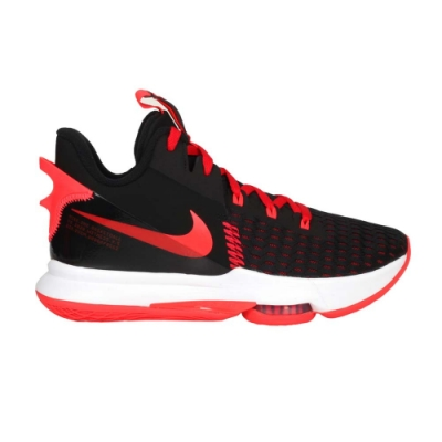 NIKE LEBRON WITNESS V EP 男籃球鞋-氣墊 高筒 避震 CQ9381005 黑紅