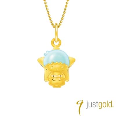 鎮金店Just Gold Lovely Memories純金系列 黃金墜子-kiki