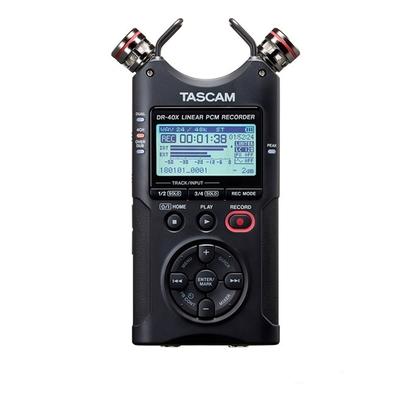 TASCAM 攜帶型線性PCM錄音機 DR-40X (公司貨)