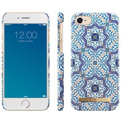 iDeal iPhone 6/7/8 瑞典北歐時尚手機保護殼-摩洛哥古典釉瓷