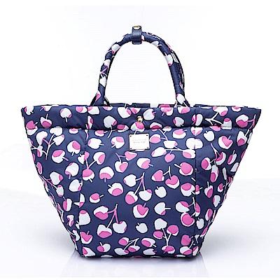 VOVAROVA空氣包-造型百變托特包-Cherrypicks-Indigo&pink