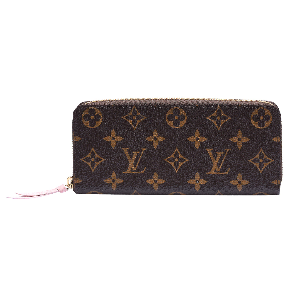 LV M61298 Cl?mence拉鏈長夾(玫粉) product image 1
