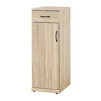 Bernice-希塔1.3尺一門一抽鞋櫃/隙縫收納櫃(高櫃)-39x38x107cm