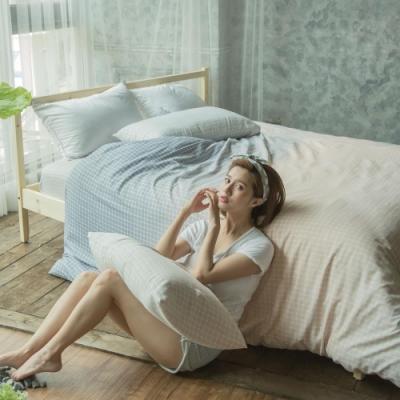 BUHO 舒涼TENCEL天絲單人二件式床包枕套組(佇日安然)