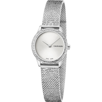 Calvin Klein Minimal 經典重溫復古時尚錶(K3M23T26)24mm