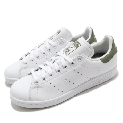 adidas 休閒鞋 Stan Smith 復古 低筒 男女鞋 海外限定 愛迪達 三葉草 史密斯 情侶 白 綠 EF4479