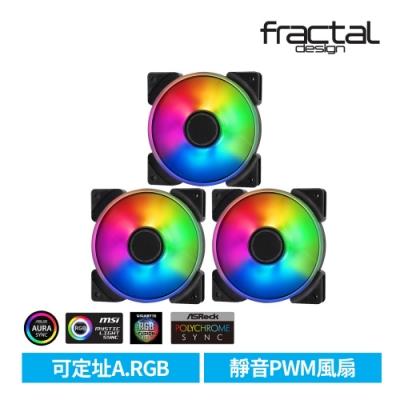 【Fractal Design】 Prisma AL PWM ARGB 12cm風扇 三包