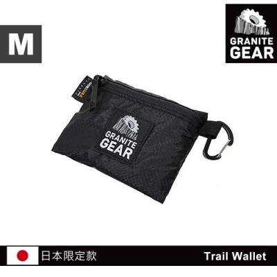 【日本限定款】Granite Gear 1000102 Trail Wallet 輕量零錢包(M) / 黑色