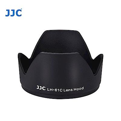 JJC副廠Olympus遮光罩LH-61C-(黑色蓮花)LH-J61C
