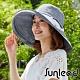 Sunlead 防曬護頸寬緣。小顏效果防風吹落抗UV遮陽帽/傘帽 (藍灰色) product thumbnail 1