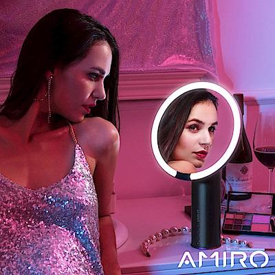 AMIRO O 系列高清日光化妝鏡(小黑鏡充電版) - 深空灰