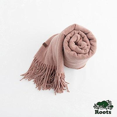 Roots女配件- 坎莫爾長條圍巾 - 粉色