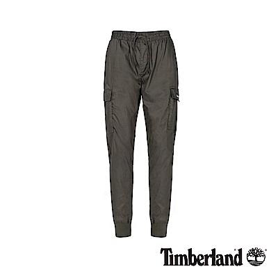 Timberland 男款泥炭色鬆緊長褲|A217Y