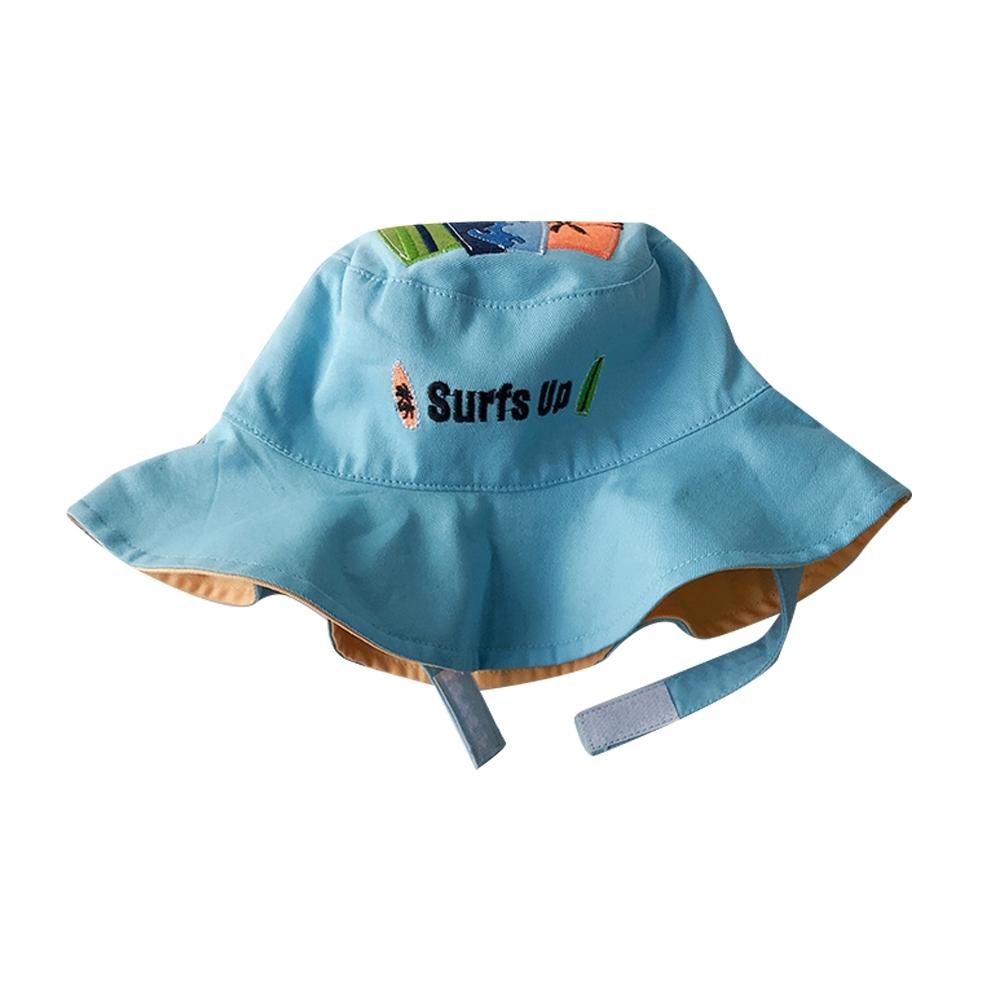 Baby童衣 兒童雙面盆帽 男女童漁夫帽 寶寶防曬遮陽帽 88278