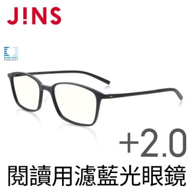 JINS 閱讀用濾藍光老花眼鏡+2.00 (AFRD18A069)