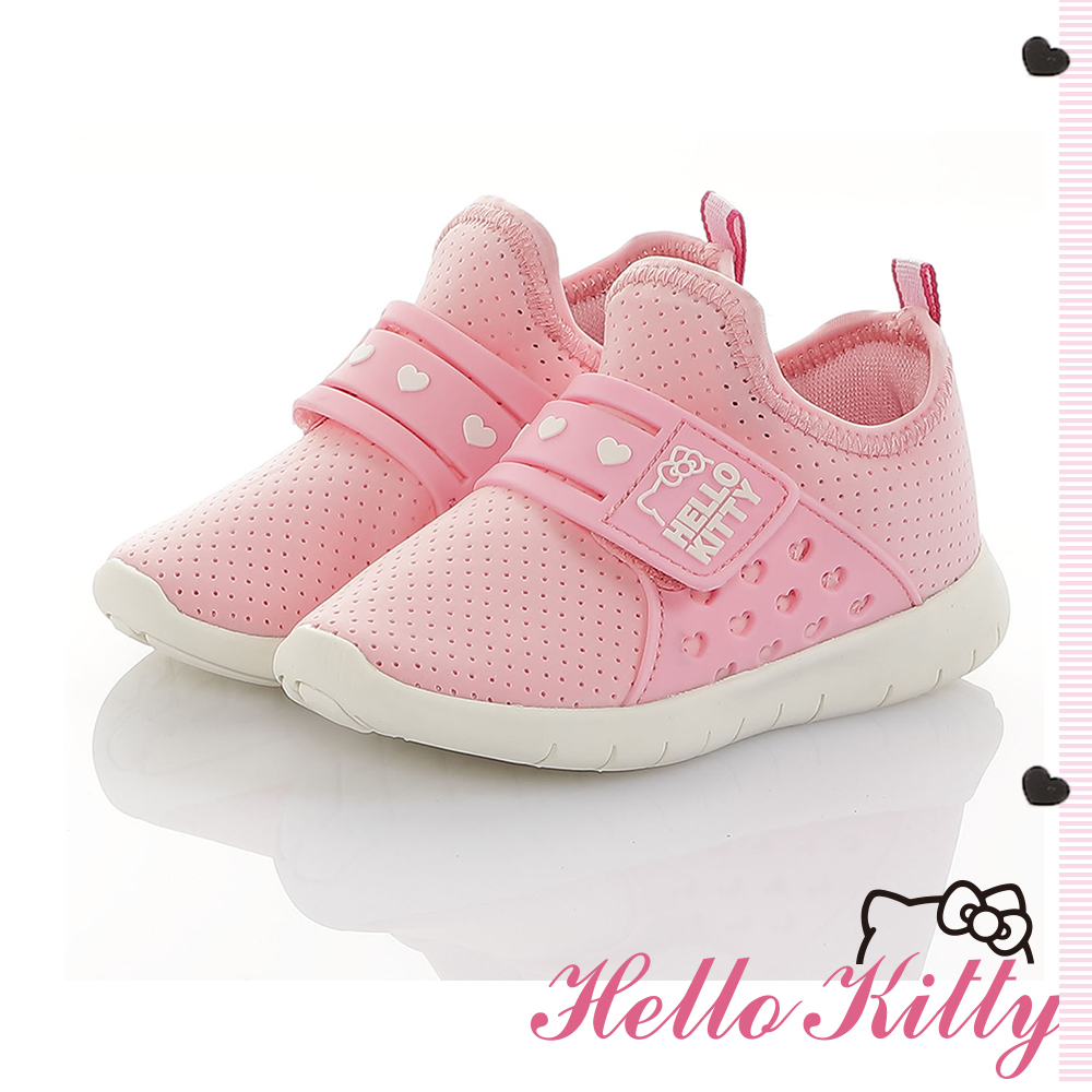 HelloKitty童鞋 旗艦款 輕量透氣減壓抗菌防臭休閒鞋-粉