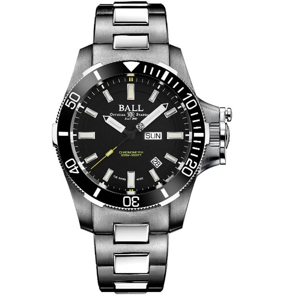 Ball波爾工程師碳氫系列Submarine Warfare機械錶
