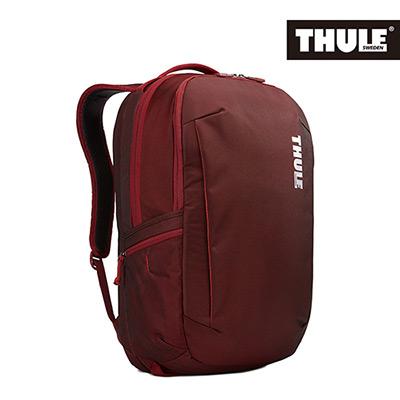 THULE-Subterra 34L商旅兩用雙層筆電背包TSTB-334-磚紅