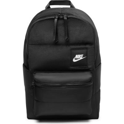 NIKE 後背包 健身 肩背包 旅行包 筆電包 絨布 黑 CQ0263010 NK HERITAGE BKPK - WNTRZD HO20
