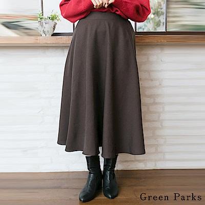 Green Parks 柔軟棉質喇叭裙