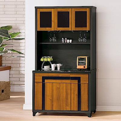 AS-賽門4尺餐櫃全組-116x45x199cm