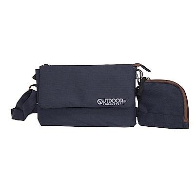 輕旅遊系列-側背包+零錢包-黑 ODS17F02BK