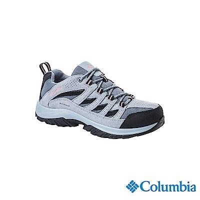 Columbia 哥倫比亞 女款-防潑水登山鞋-灰色 UBL53720GY