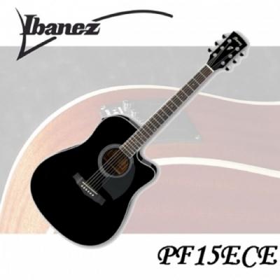 Ibanez PF15ECE 電木吉他/專業規格/絕佳音質/公司貨保固/ 黑色