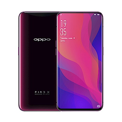OPPO Find X (8GB/128GB) 6.4吋曲面全景螢幕未來旗艦機