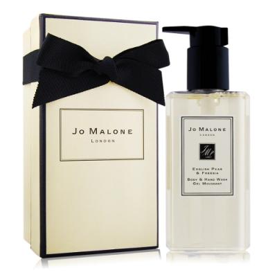 Jo Malone 英國梨與小蒼蘭手部及身體沐浴凝膠250ml[含禮盒緞帶] 洗手乳潔手乳