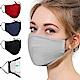 活力揚邑 重覆用PM2.5防塵霾濾芯式立體棉布口罩2入 product thumbnail 1