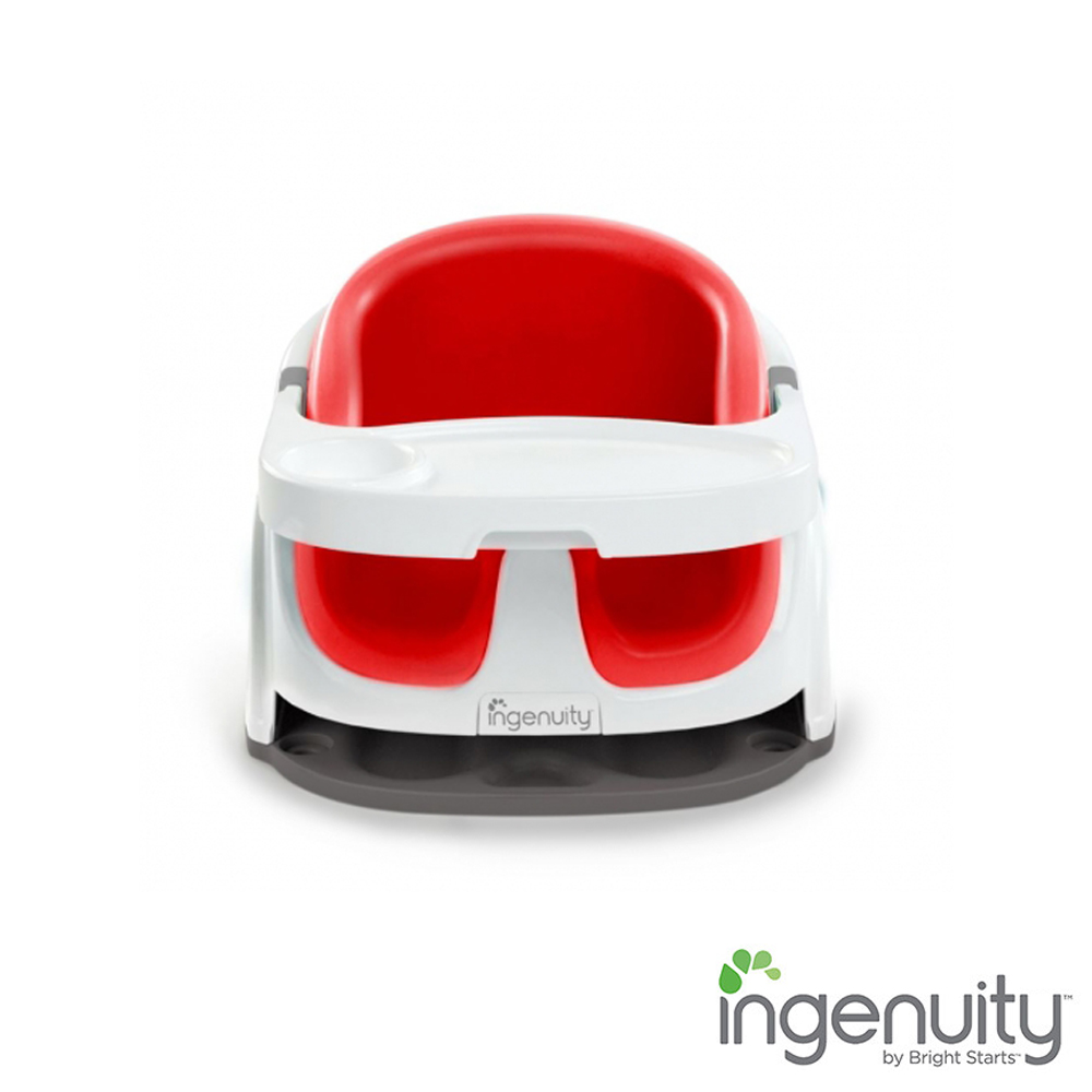 Kids II Ingenuity 2合1寶寶椅 胭脂紅