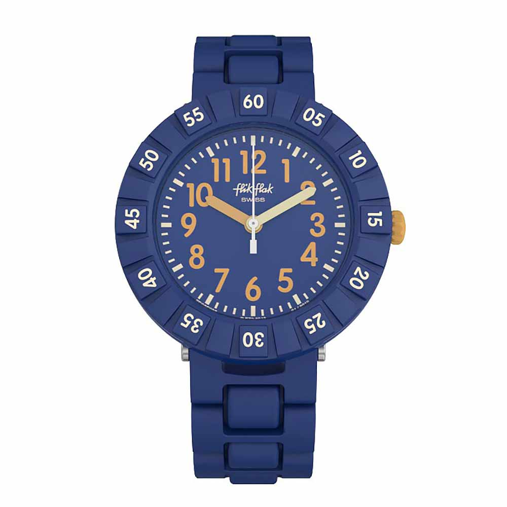 FlikFlak 兒童錶 SOLO BLUE唯有藍色